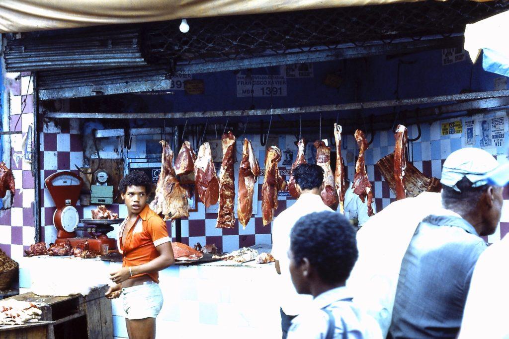 Fleisch auf den Markt in Bahia